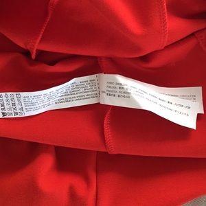 Zara Dresses - NWT Zara Orange Midi Low Back Column Dress L